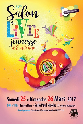 Salon du livre jeunesse d eaubonne 34e dition agenda for Salon du chiot reze 2017