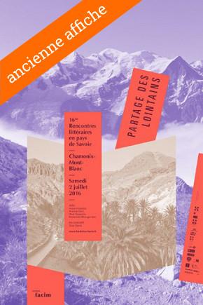 Agenda Litt' : Rencontres littéraires en pays de Savoie 2016
