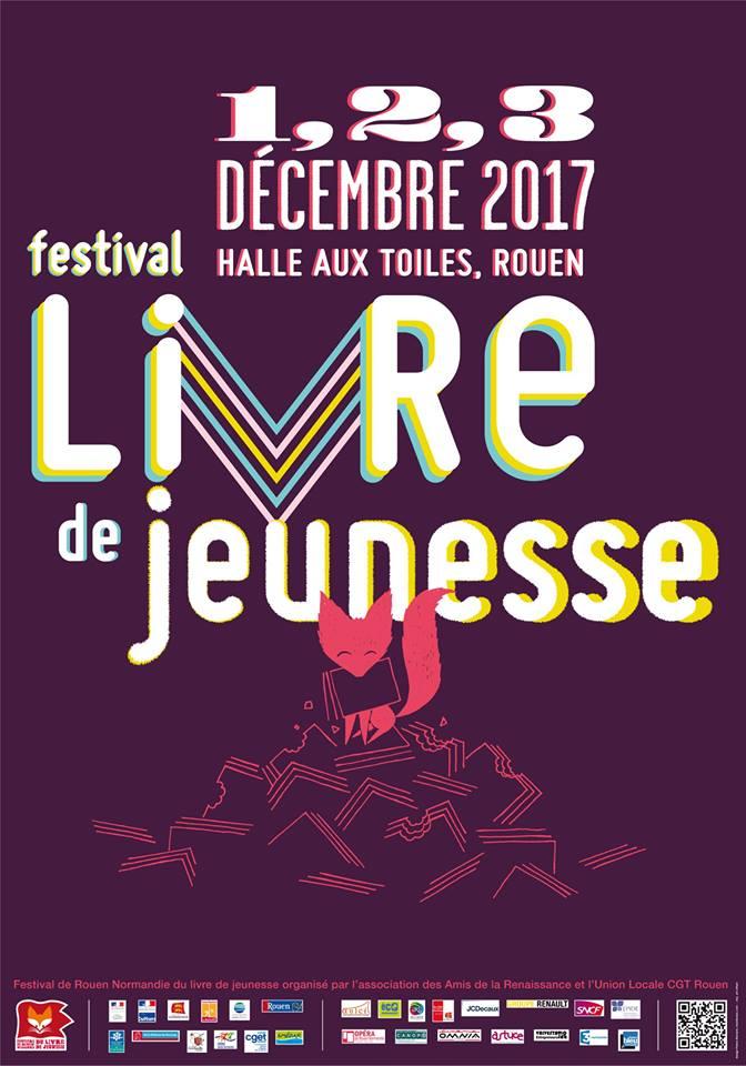 Agenda Litt Festival du livre de jeunesse de Rouen 2017