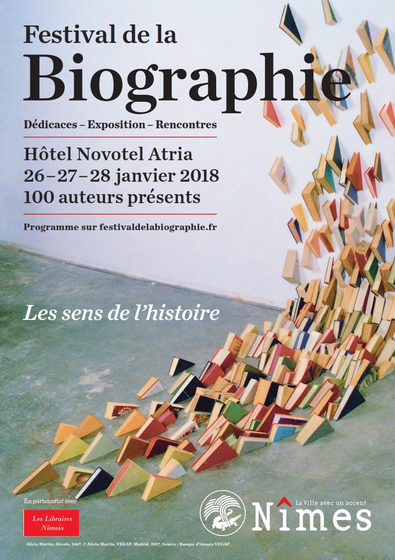 Agenda Litt Festival de la Biographie de Nîmes 2018